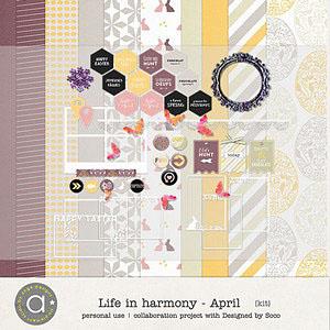 Life In Harmony - April {Kit}