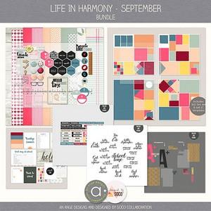Life In Harmony - September {Bundle}