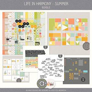 Life In Harmony - Summer {Bundle}
