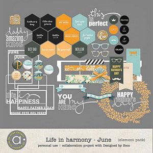 Life In Harmony - June {Elements}