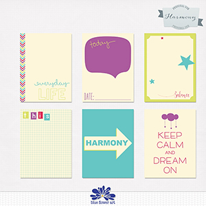 Harmony Journaling Cards