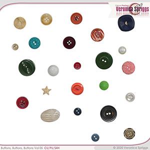 Buttons Buttons Buttons Vol 05