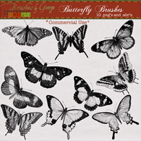 Butterfly Brushes Commercial