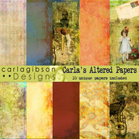 Carlas Altered Paper Pack
