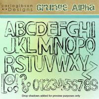 Grunge Alphas