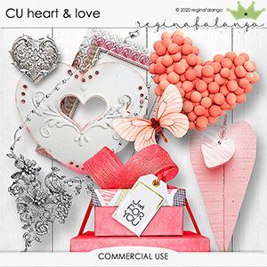 CU HEART & LOVE
