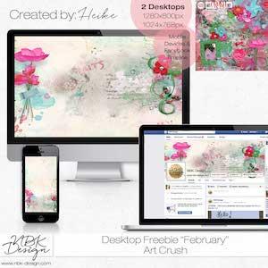 Free Desktop:: February 2018