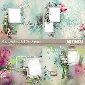 Captured magic - quick pages