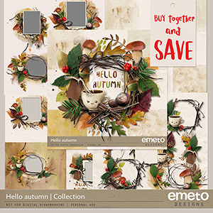 Hello Autumn Collection by emeto designs