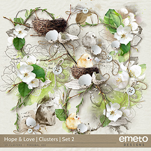 Hope and Love Clusters Set 2