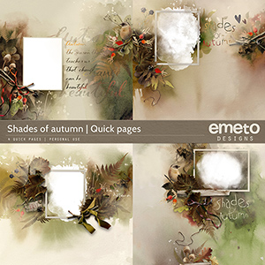 Shades of autumn - Quick pages