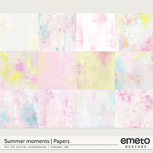Summer Moments - Papers