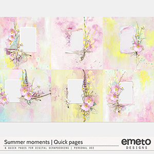 Summer Moments - Quick pages