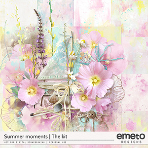 Summer Moments - Kit (Elements and Papers)