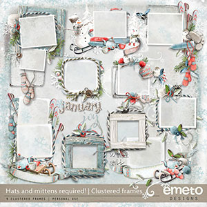 Hats And Mittens Required! - Clustered frames