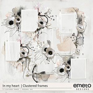 In my heart - clustered frames