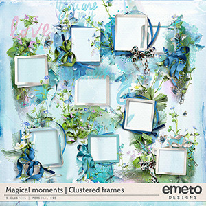 Magical moments - clustered frames