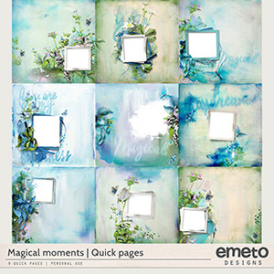 Magical moments - Quick pages