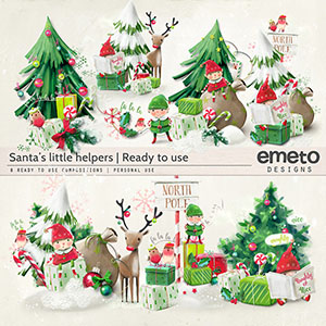 Santa's Little Helpers - Ready to use