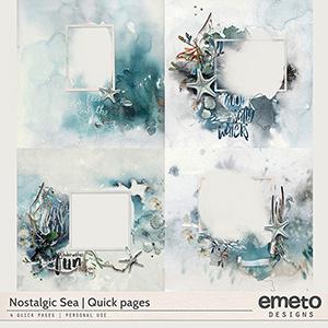Nostalgic sea - quick pages