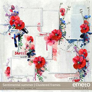 Sentimental Summer - Clustered Frames