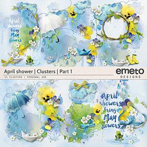 April shower - clusters - part1