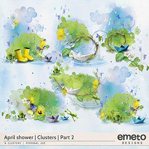 April shower - clusters - part2