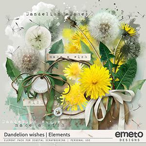 Dandelion wishes - Elements