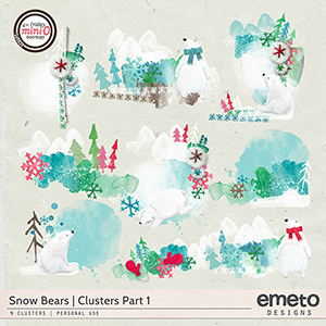 Snow Bears clusters part 1