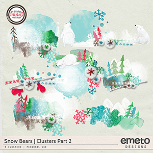 Snow Bears clusters part 2