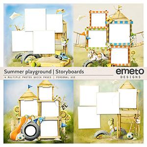 Summer Playground - Storyboards