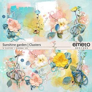 Sunshine Garden - clusters
