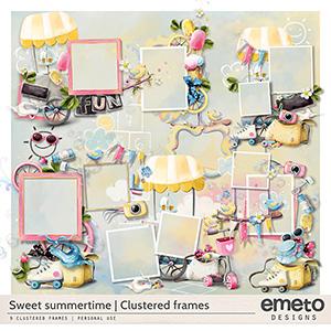Sweet summertime - clustered frames