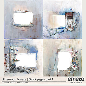 Afternoon breeze - Quick pages Part 1