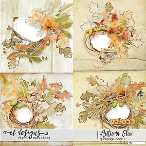 Autumn Glow Quickpages 1