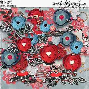 Be in Love Clusters by et designs