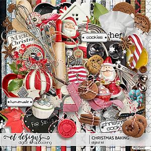 Christmas Baking kit & ornaments & labels