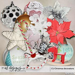 CU Christmas Decorations vol.1