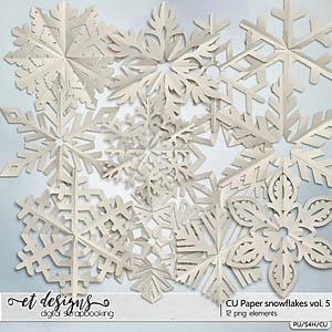 CU Paper Snowflakes vol.5