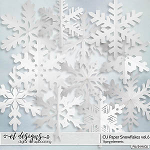CU Paper Snowflakes vol.6