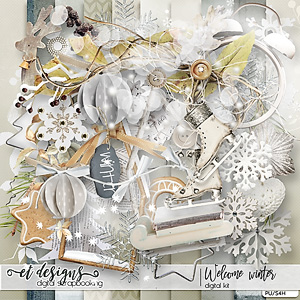 Welcome Winter kit & Alpha by et designs