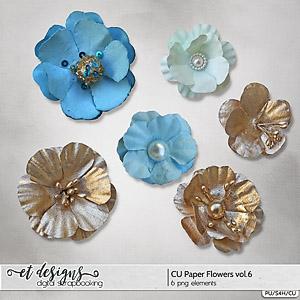 CU Paper Flowers vol.6