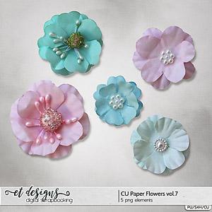 CU Paper Flowers vol.7