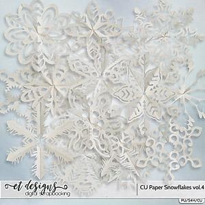 CU Paper Snowflakes vol.4
