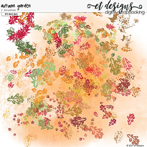 Autumn Garden Brushes by et designs