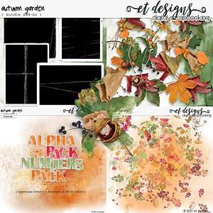 Autumn Garden ADD-ON Bundle by et designs