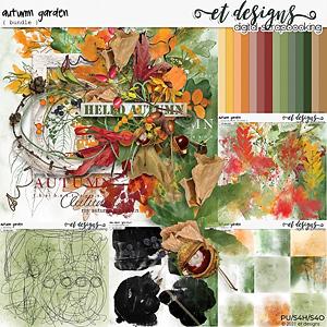 Autumn Garden Bundle by et designs