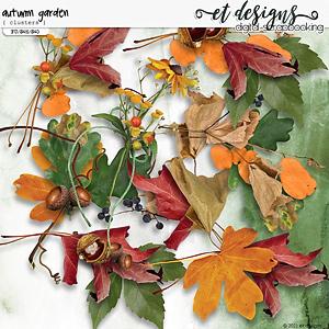 Autumn Garden Clusters by et designs