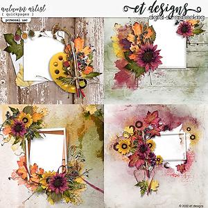 Autumn Artist Quickpages