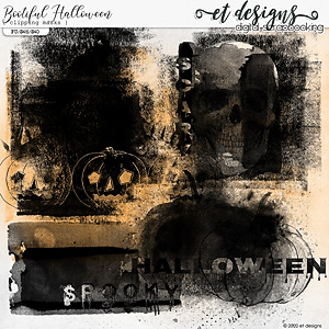 Bootiful Halloween Clipping Masks by et designs